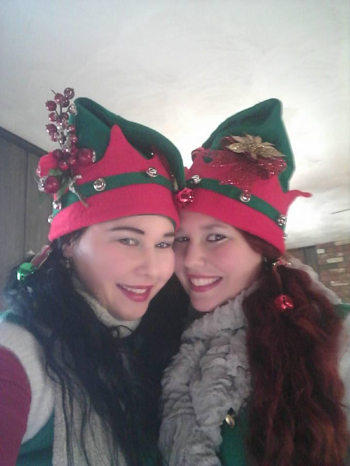 Santas Twin Helpers by Wolfblood11