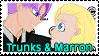 Trunks x Marron Stamp by trunkims