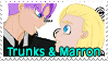 Trunks x Marron Stamp by trunkims