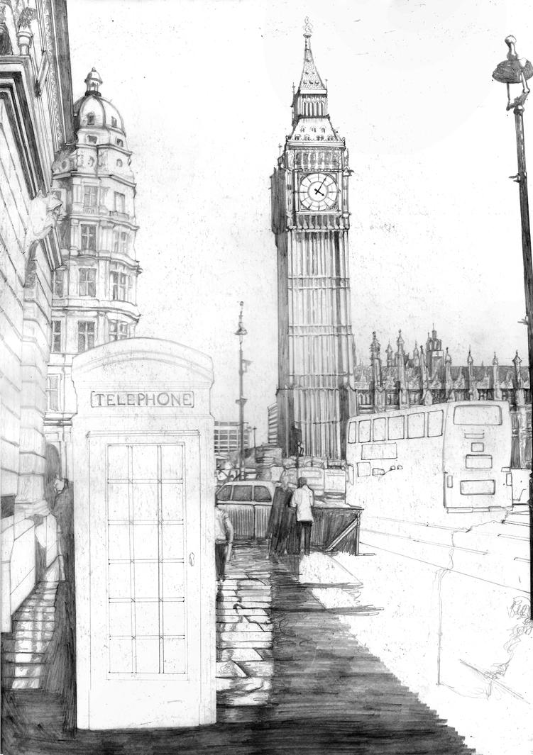 London SKETCH By Yankeestyle94 On DeviantArt