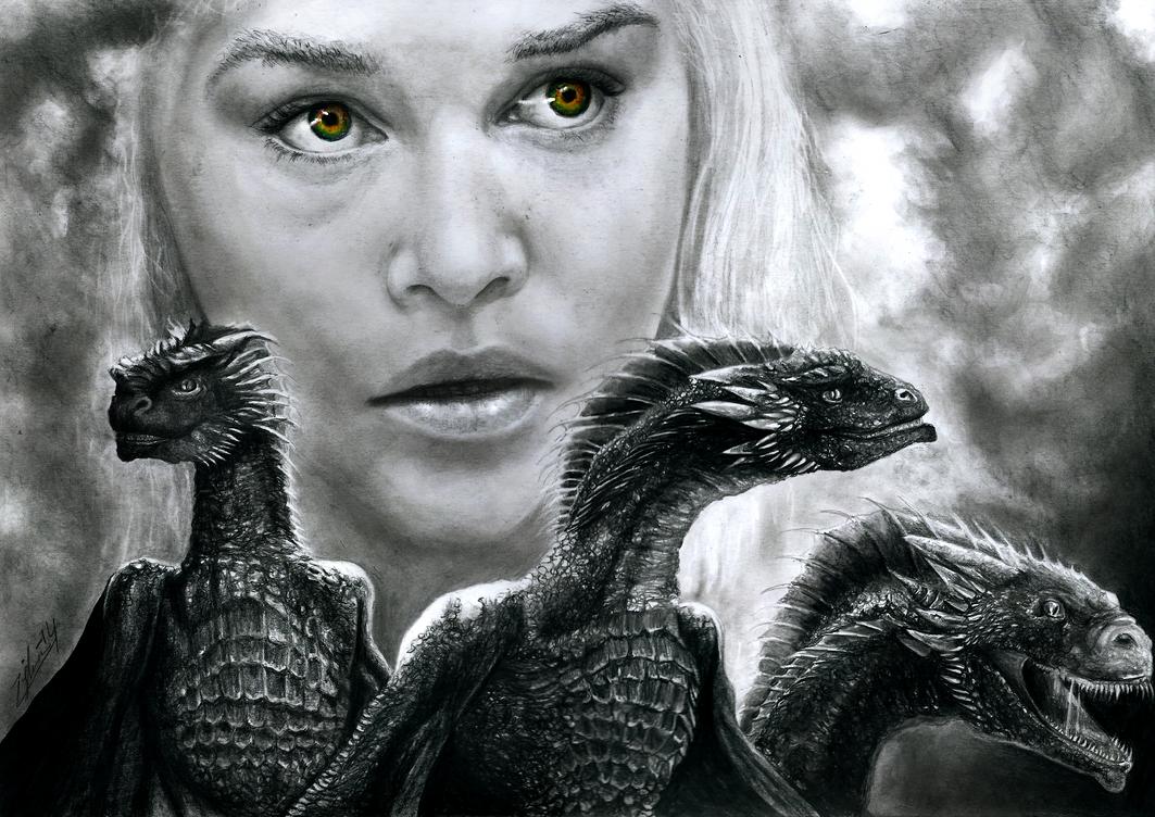 Game of Thrones - Daenerys Targaryen by Yankeestyle94