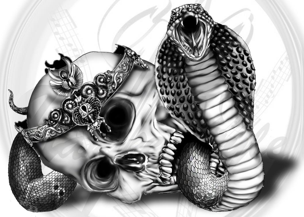 king cobra tattoo by yankeestyle94 on deviantart. Black Bedroom Furniture Sets. Home Design Ideas