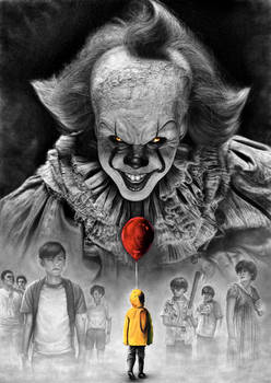 Stephen King IT 2017 Pennywise vs Losers Club