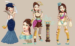 Ava Boone - Steampunk by ElvenZah