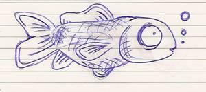 Fishy Sketch by Dank-Monkey