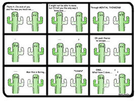 -Kactus- Mental Thinking... by Dank-Monkey
