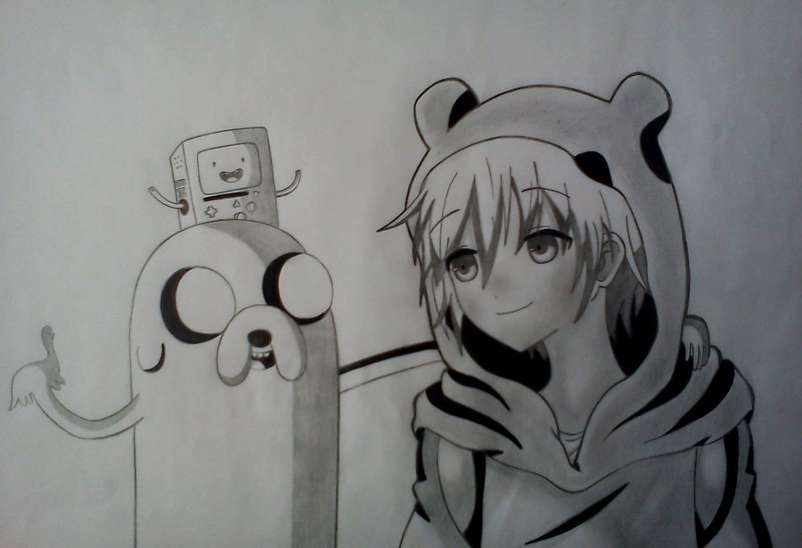 Hora de aventura version anime 65834 by shirour on deviantart hora de aventura version anime 65834 by shirour altavistaventures Image collections
