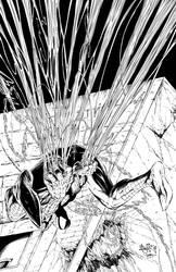 Spider-Man / Pencils: Carlos / Digital Ink: Wolf
