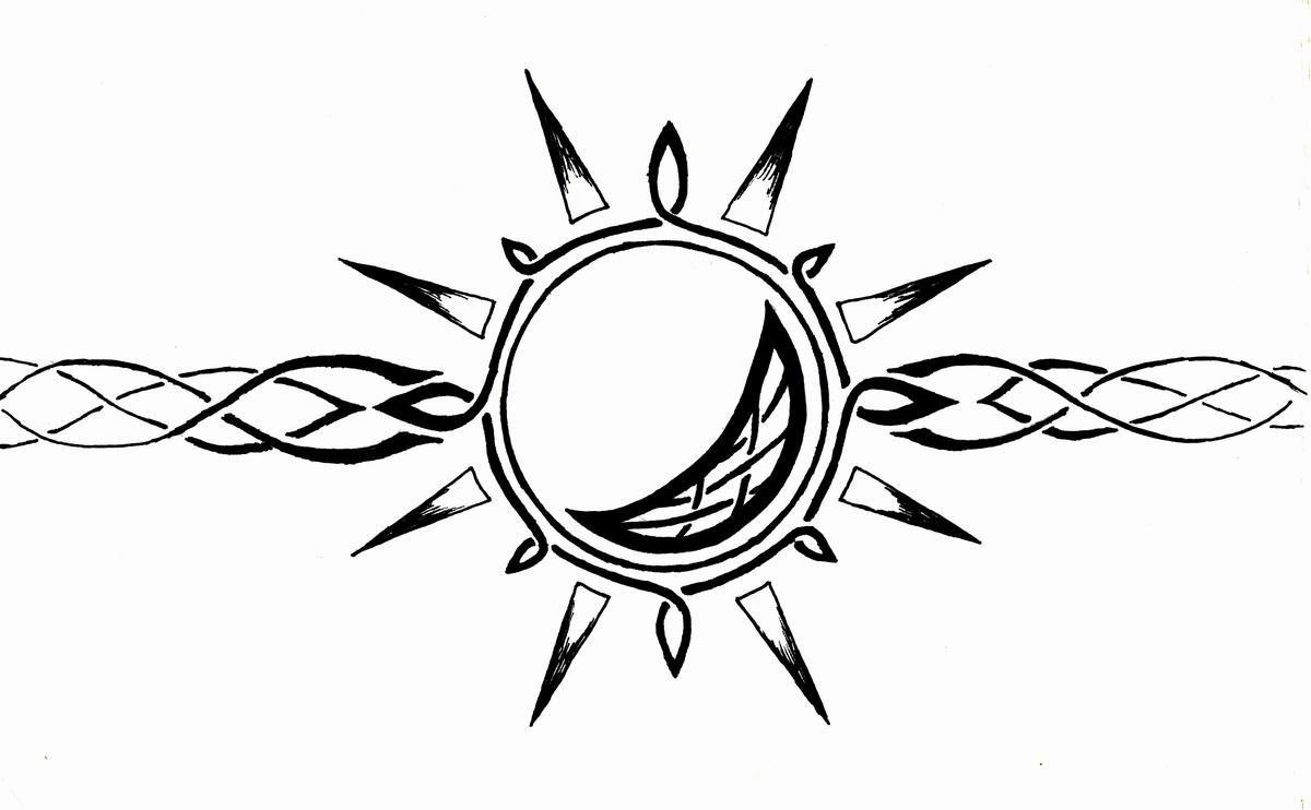 celtic sun and moon armband by mrbobafett on deviantart. Black Bedroom Furniture Sets. Home Design Ideas