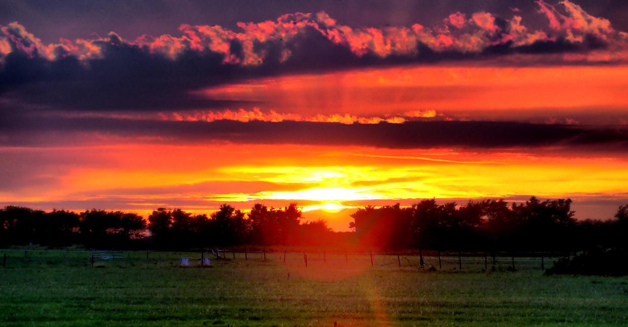 Ameland Sunset 3 by Misterooo