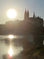 Meissen in Germany hottest Day of the Year 2014