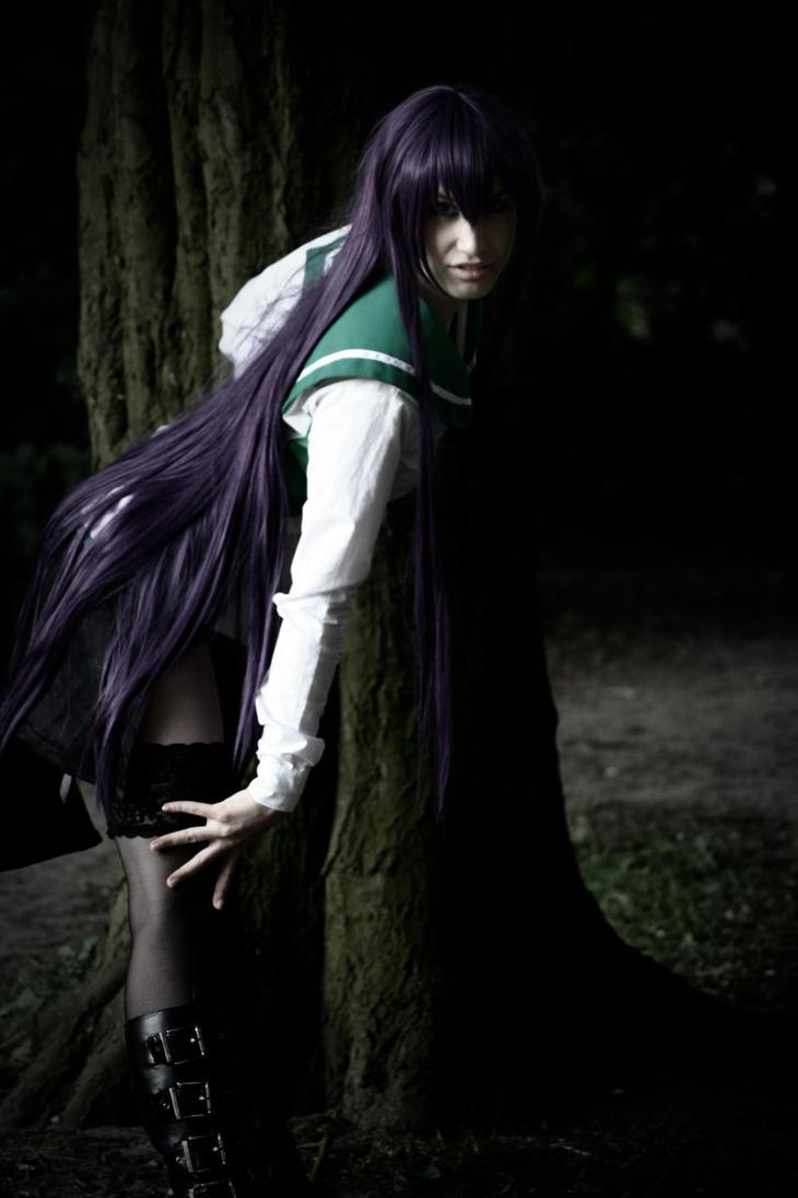 Busujima Saeko [*grabbel*] by AttiChi