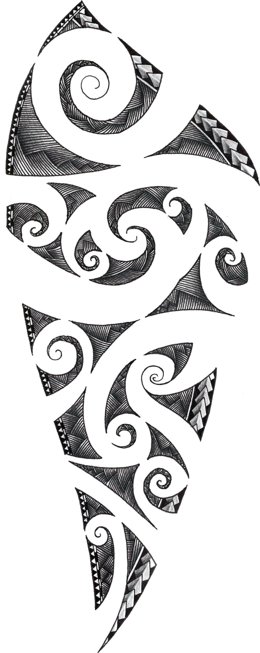 Maori Tattoo Designs Free: Maori Tattoo Design By ZakonKrancaSwiata On DeviantArt