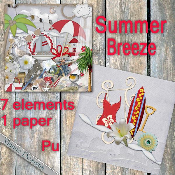 Summer Breeze freebie by VianneScraps