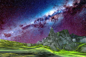 Planet In Its Milky-Wy by Ricktw