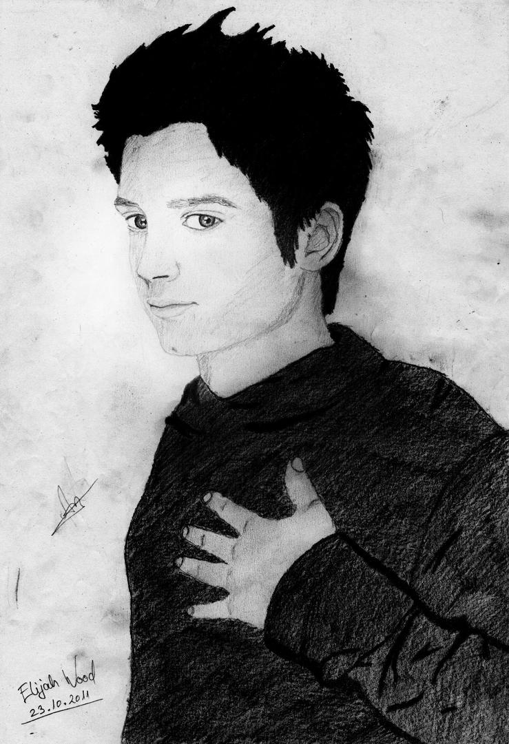 Elijah Wood by bouncing-tomato