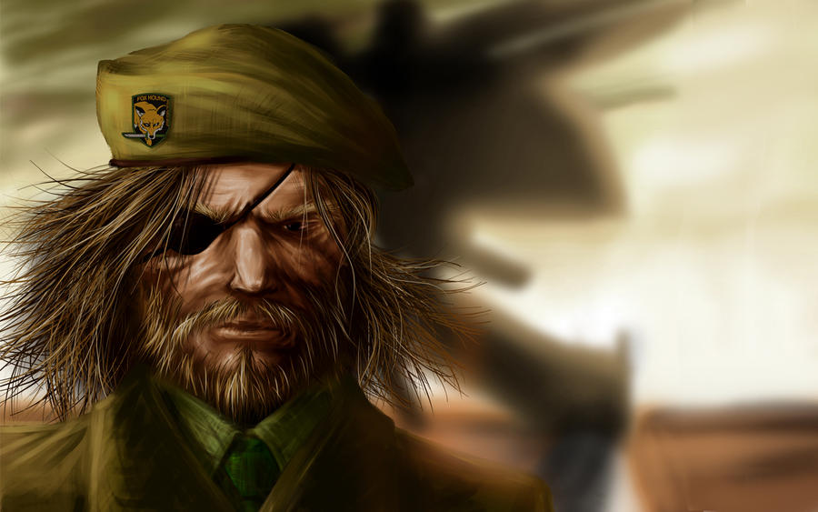 Big Boss Wallpaper By Ximawo On Deviantart