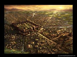 ancient city by AlienTan