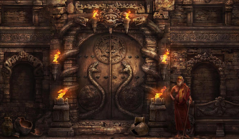 Snake door by AlienTan