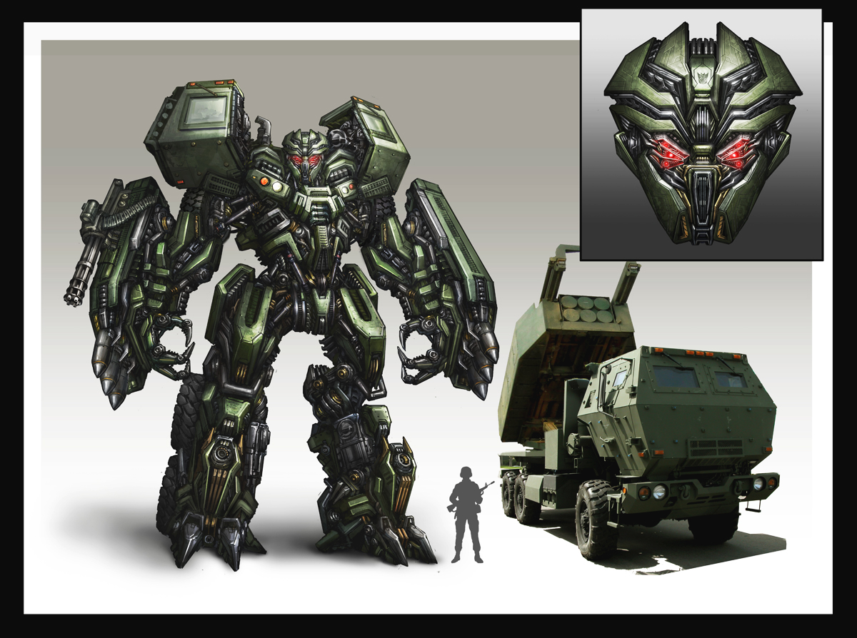 Onslaught Transformers by AlienTan