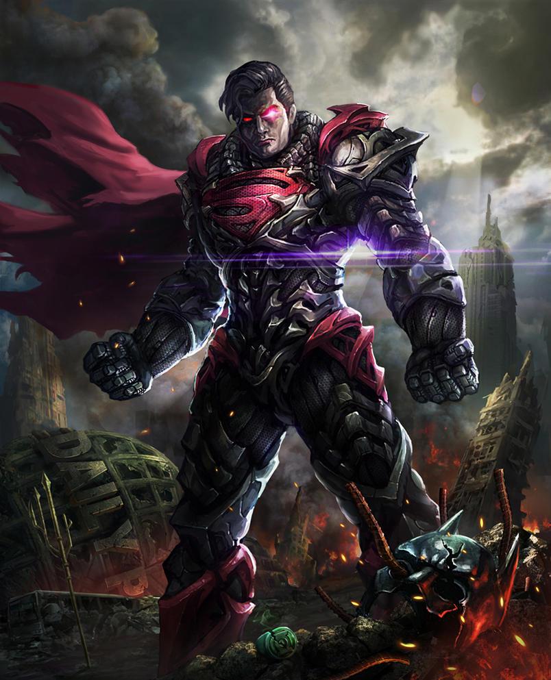 Dc Fan Art : Man of steel gone bad by alientan on deviantart