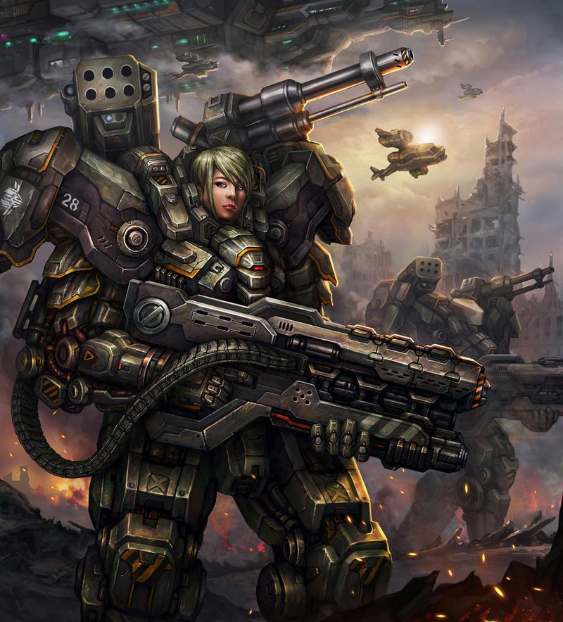 Marine Armor by AlienTan