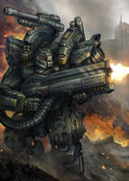 Heavy Repeater by AlienTan