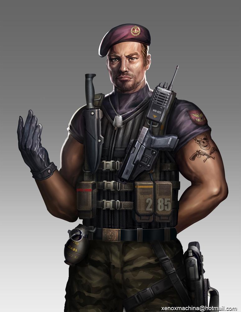 Commander by AlienTan