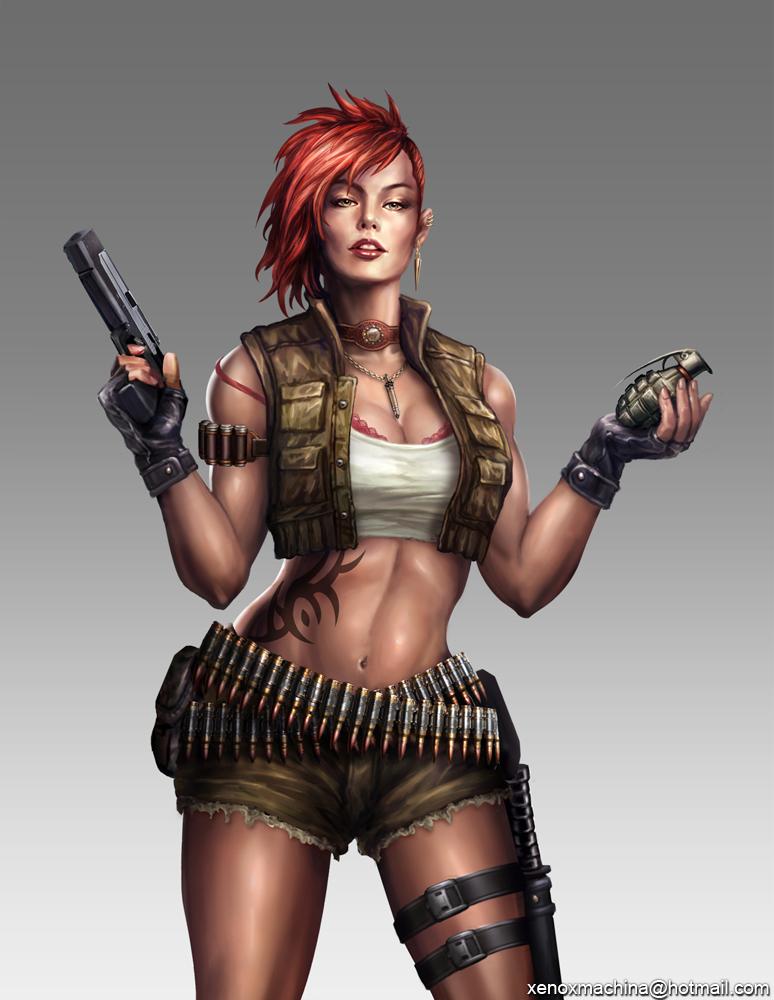 Soldier girl by AlienTan