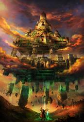 Temple summoning by AlienTan