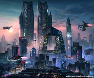 Cyberpunk China