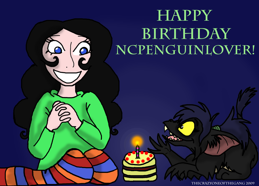 Cake Art By Liza Wv : Happy birthday ncpenguinlover by TheCrazyOneOfTheGang on ...