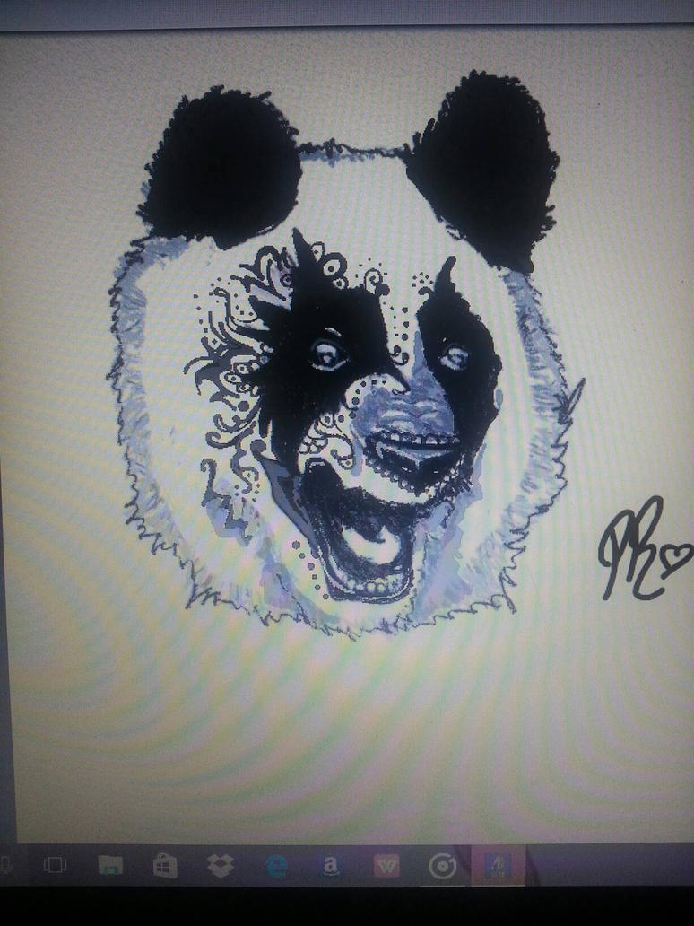charlie 39 s panda tattoo design by freelancercarolina on deviantart. Black Bedroom Furniture Sets. Home Design Ideas