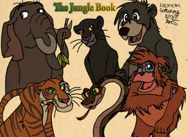 The Jungle book Gang :Remade: by Chibi-N92