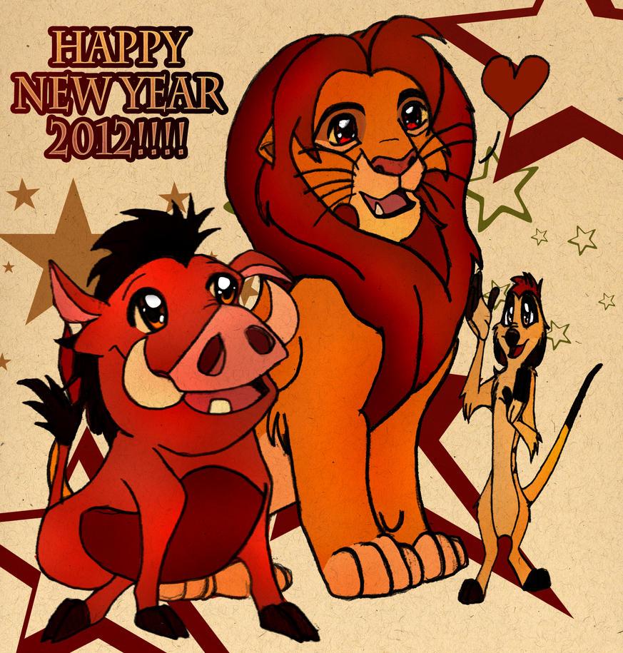 New Year 2012 by Garfield141992