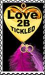 LOVE2BTickled stamp by TicklishAndInLove