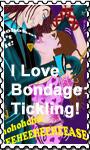 I Love Bondage Tickling Stamp by TicklishAndInLove