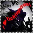 I Love Ticklepires! - stamp
