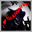 I Love Ticklepires! - stamp by TicklishAndInLove