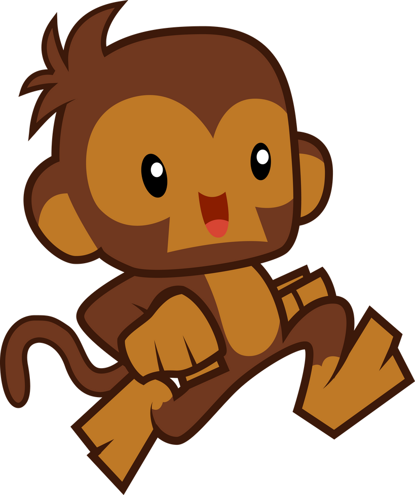 Tack the monkey by birdalliance on deviantart