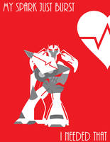 Ratchet Valentine's Day Card by RC-Bike