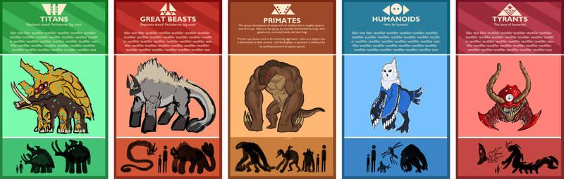 Beast Categories