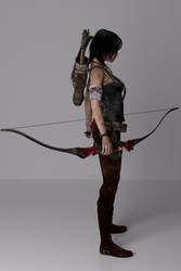 Tomb Raider Right Side View 2013 By Deviantaudio