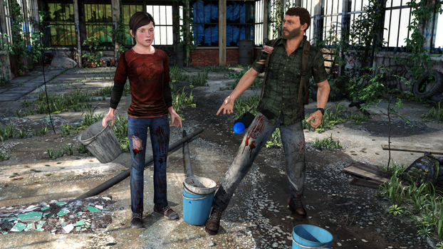 TLOU-  GETTING SUPPLIES