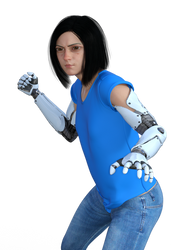 alita battle angel (wip)