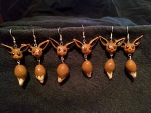Eevee earrings