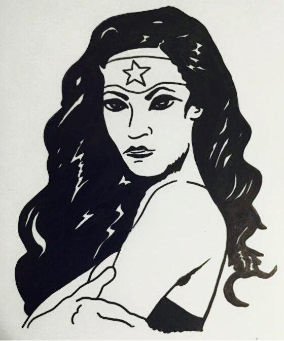 Wonder Woman by MaxDaMonkey