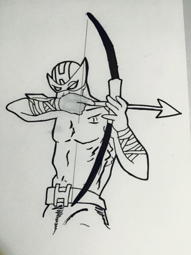 Hawkeye by MaxDaMonkey