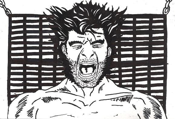 Wolverine - Pain by MaxDaMonkey