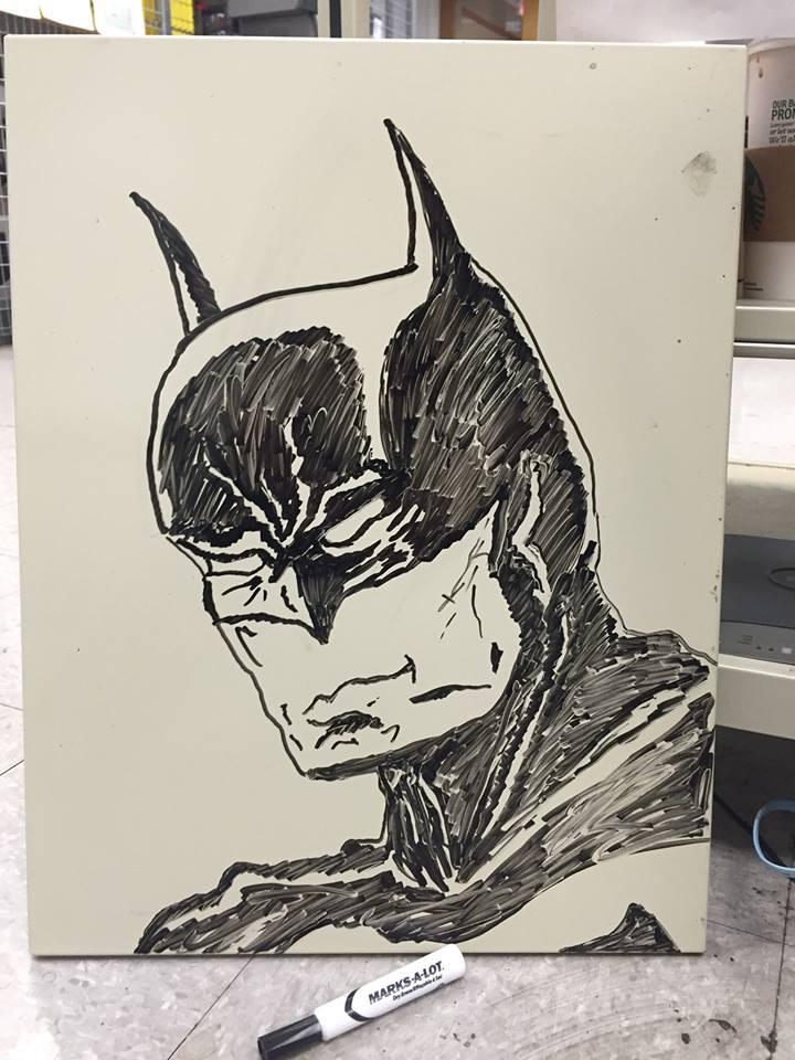 Batman by MaxDaMonkey